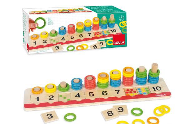 Juguetes educativos para que aprendan jugando