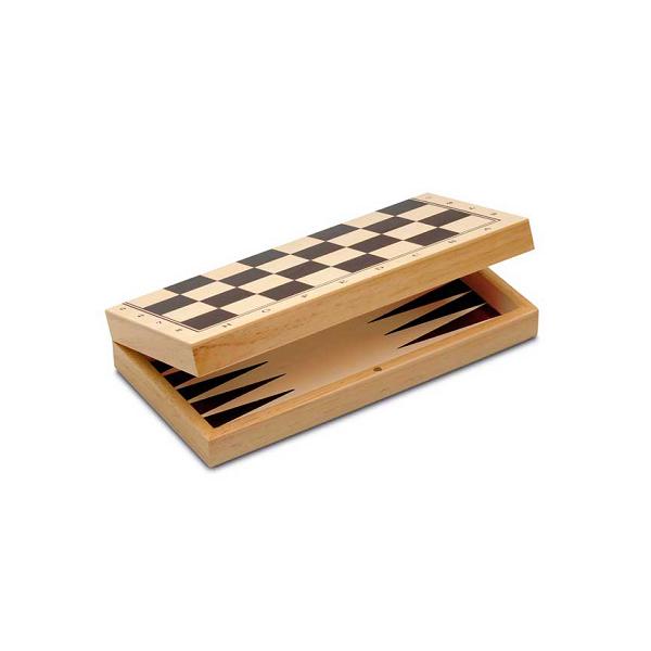 3 en 1 Ajedrez-Damas-Backgammon